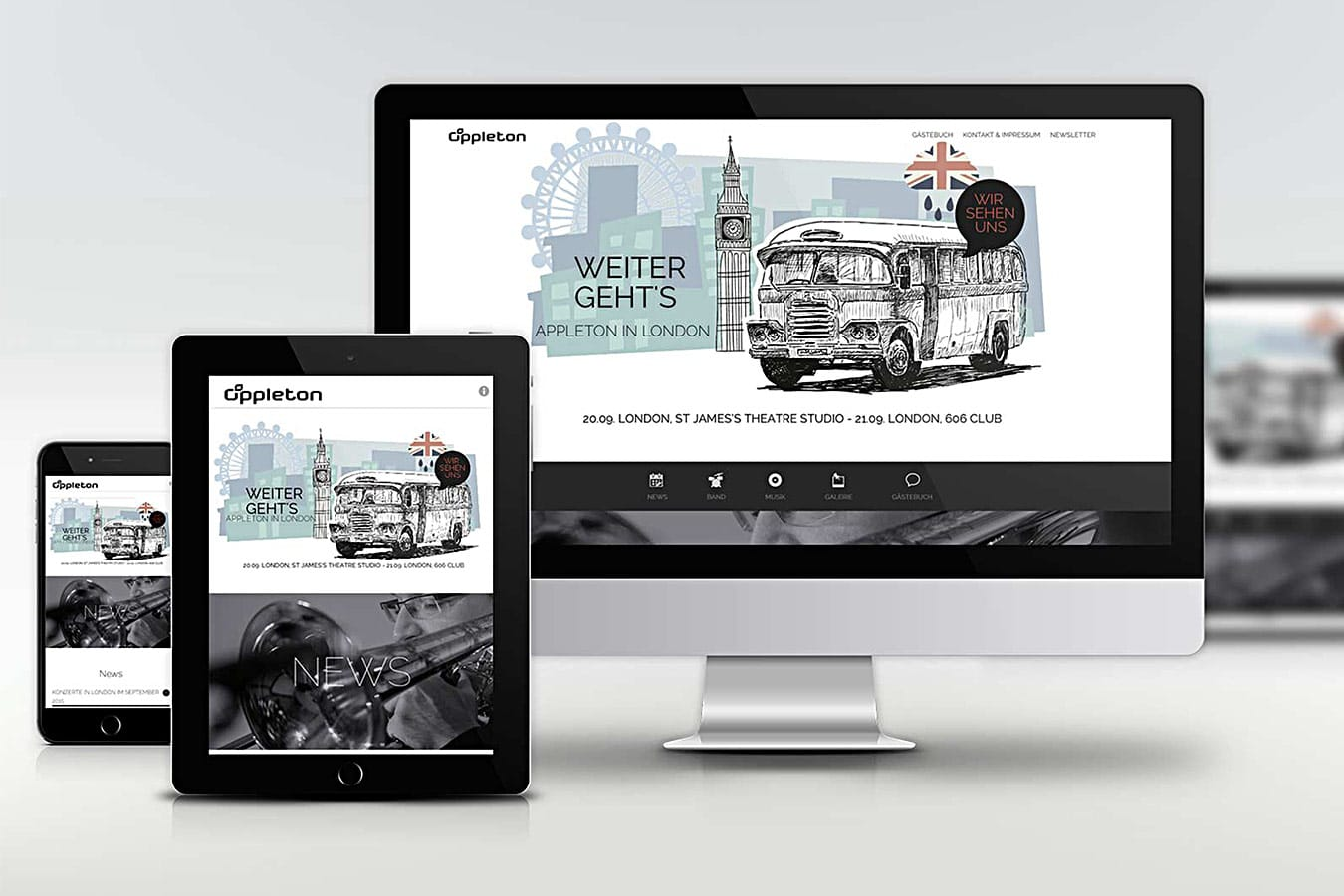 responsive Website, mobile