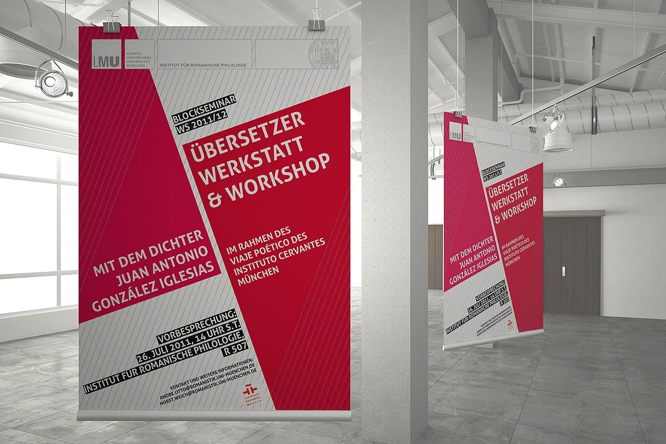 Lmu Weich Plakat Einwerk Werkstatt Für Visuelle